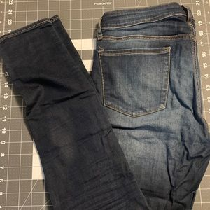 Articles of Society 'Mya' Skinny Jeans Dark Blue